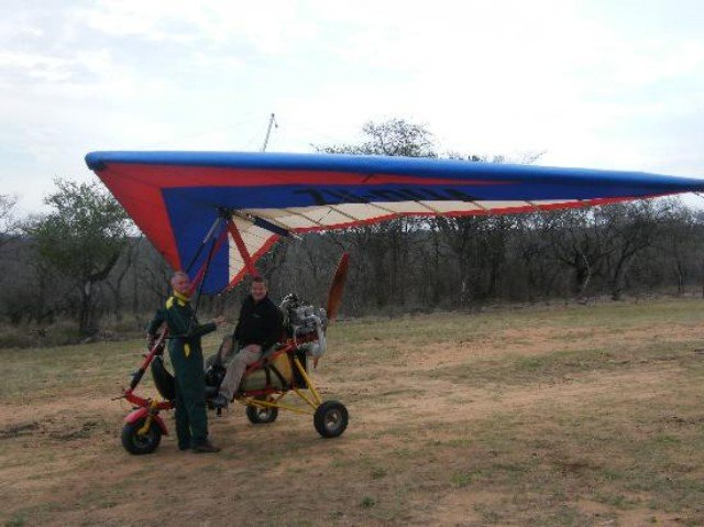 Microlight Safari Flights Kwa Madwala Game Reserve